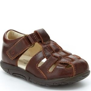 NEW STRIDE RITE LEATHER HARPER SANDALS FOR KIDS!